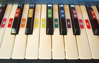 CN-colored MIDI keyboard 2 - web